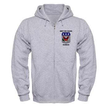 AWCS - A01 - 03 - Army War College Students with Text Zip Hoodie