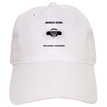 Airborne - A01 - 01 - DUI - Airborne School Cap with Text - Cap