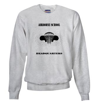 Airborne - A01 - 03 - DUI - Airborne School Cap with Text - Sweatshirt