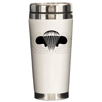 Airborne - M01 - 03 - DUI - Airborne School Ceramic Travel Mug