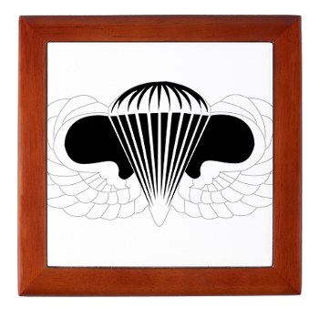 Airborne - M01 - 03 - DUI - Airborne School Keepsake Box