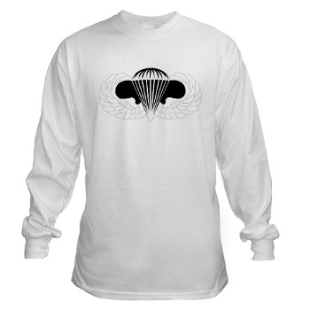 Airborne - A01 - 03 - DUI - Airborne School Long Sleeve T-Shirt