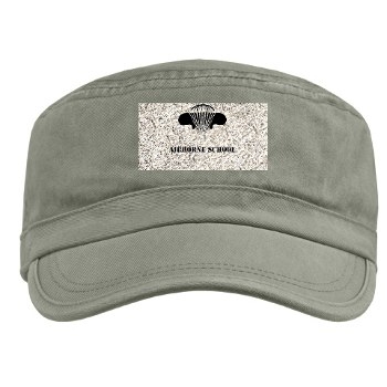 Airborne - A01 - 01 - DUI - Airborne School with Text Military Cap