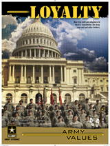 DOD Media - Army Values Loyalty 18 x 24 Mounted 3408-36574