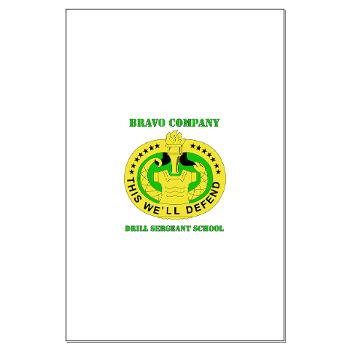 BCDSS - M01 - 02 - DUI - Bravo Co - Drill Sgt School with Text Large Poster