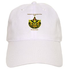 "BHHTS - A01 - 01 - DUI - Brigade Headquarters Headquarters Troop - ""Saber"" with Text Cap"
