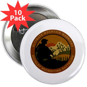 "BRB - M01 - 01 - DUI - Beckley Recruiting Bn 2.25"" Button (10 pack)"