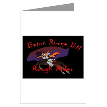 BRRB - M01 - 02 - DUI - Baton Rouge Recruiting Battalion - Greeting Cards (Pk of 10)