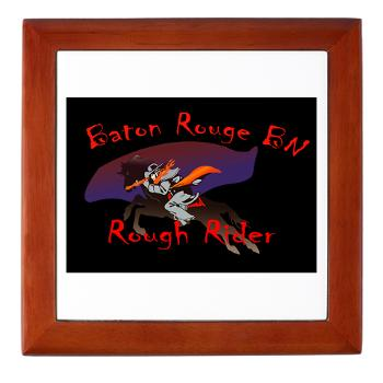BRRB - M01 - 03 - DUI - Baton Rouge Recruiting Battalion - Keepsake Box