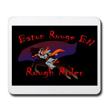 BRRB - M01 - 03 - DUI - Baton Rouge Recruiting Battalion - Mousepad