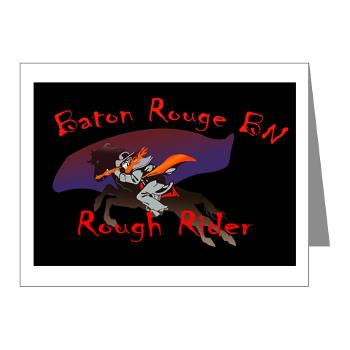 BRRB - M01 - 02 - DUI - Baton Rouge Recruiting Battalion - Note Cards (Pk of 20)