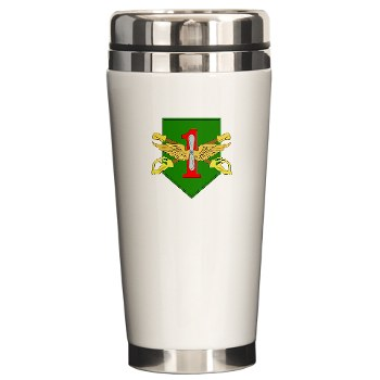CABDB - M01 - 03 - DUI - Combat Aviation Bde - Demon Brigade Ceramic Travel Mug