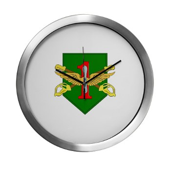 CABDB - M01 - 03 - DUI - Combat Aviation Bde - Demon Brigade Modern Wall Clock