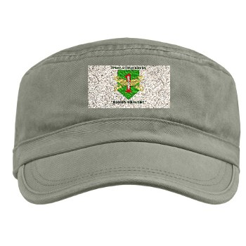 CABDB - A01 - 01 - DUI - Combat Aviation Bde - Demon Brigade with Text Military Cap