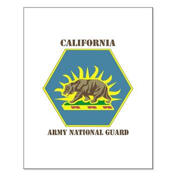 CALIFORNIAARNG - M01 - 02 - DUI - California Army National Guard with text - Small Poster