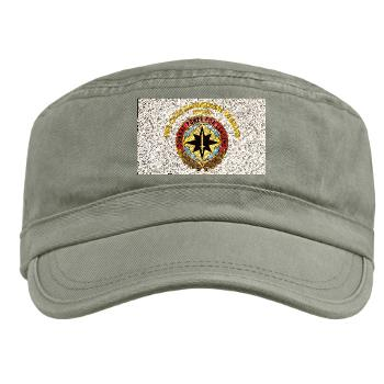 CECOM - A01 - 01 - Life Cycle Mgmt Cmd - CECOM with Text - Military Cap