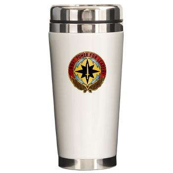 CECOM - M01 - 03 - Life Cycle Mgmt Cmd - CECOM - Ceramic Travel Mug