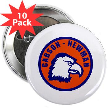 "CNC - M01 - 01 - SSI - ROTC - Carson-Newman College - 2.25"" Button (10 pack)"