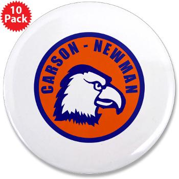 "CNC - M01 - 01 - SSI - ROTC - Carson-Newman College - 3.5"" Button (10 pack)"