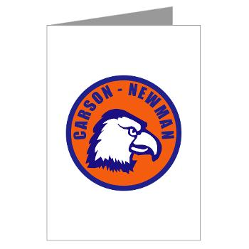 CNC - M01 - 02 - SSI - ROTC - Carson-Newman College - Greeting Cards (Pk of 10)