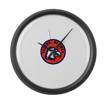 CNC - M01 - 03 - SSI - ROTC - Carson-Newman College - Large Wall Clock