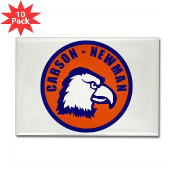 CNC - M01 - 01 - SSI - ROTC - Carson-Newman College - Rectangle Magnet (10 pack)