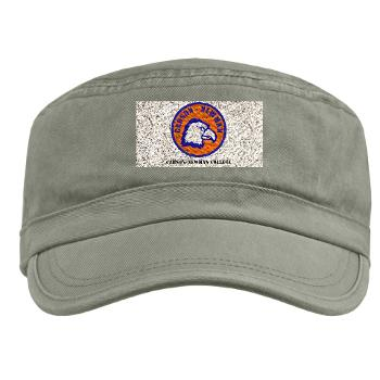 CNC - A01 - 01 - SSI - ROTC - Carson-Newman College with Text - Military Cap