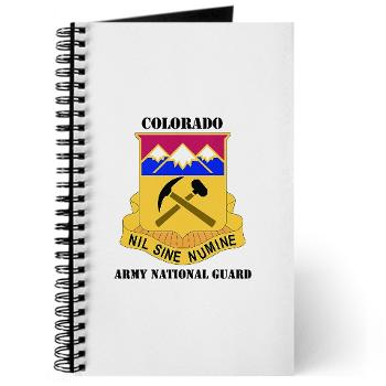 COLORADOARNG - M01 - 02 - DUI - Colorado Army National Guard With Text - Journal