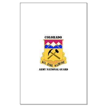 COLORADOARNG - M01 - 02 - DUI - Colorado Army National Guard With Text - Large Poster