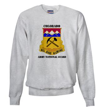 COLORADOARNG - A01 - 03 - DUI - Colorado Army National Guard With Text - Sweatshirt