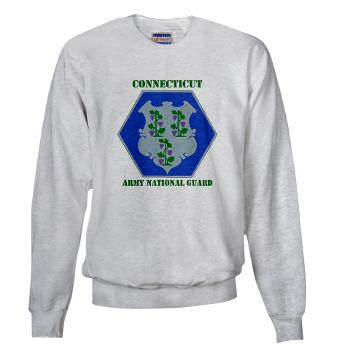 CONNECTICUTARNG - A01 - 03 - DUI - Connecticut Army National Guard with text Sweatshirt