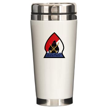 CRB - M01 - 04 - DUI - Cleveland Recruiting Battalion - Ceramic Travel Mug