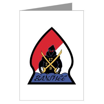 CRB - M01 - 02 - DUI - Cleveland Recruiting Battalion - Greeting Cards (Pk of 10)
