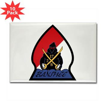 CRB - M01 - 01 - DUI - Cleveland Recruiting Battalion - Rectangle Magnet (10 pack)