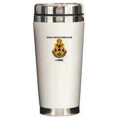 CWOCC - M01 - 03 - DUI - Warrant Officer Career Center - Cadre with Text - Ceramic Travel Mug