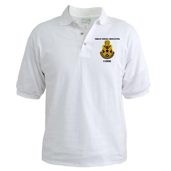 CWOCC - A01 - 04 - DUI - Warrant Officer Career Center - Cadre with Text - Golf Shirt