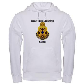 CWOCC - A01 - 03 - DUI - Warrant Officer Career Center - Cadre with Text - Hooded Sweatshirt