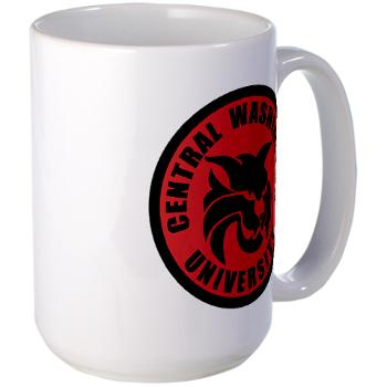 CWU - M01 - 03 - SSI - ROTC - Central Washington University - Large Mug