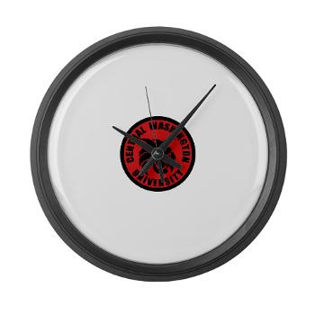 CWU - M01 - 03 - SSI - ROTC - Central Washington University - Large Wall Clock