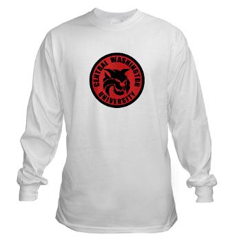 CWU - A01 - 03 - SSI - ROTC - Central Washington University - Long Sleeve T-Shirt