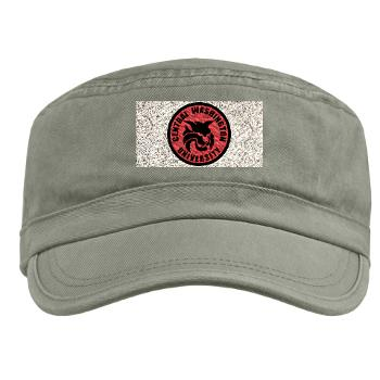 CWU - A01 - 01 - SSI - ROTC - Central Washington University - Military Cap