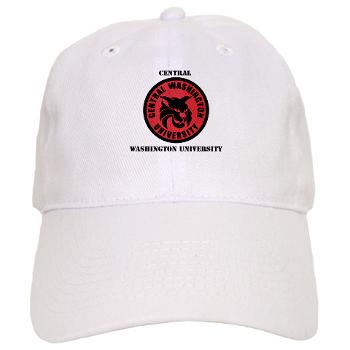 CWU - A01 - 01 - SSI - ROTC - Central Washington University with Text - Cap