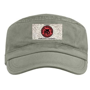 CWU - A01 - 01 - SSI - ROTC - Central Washington University with Text - Military Cap