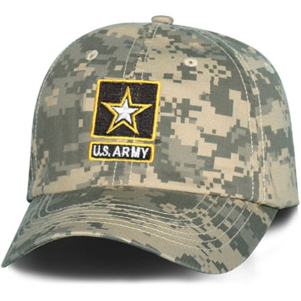 Army Army Star Direct Embroidered ACU Ball Cap  Quantity 5