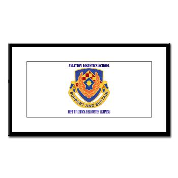 DAHT - M01 - 02 - DUI - Dept of Attack Helicopter Training with Text Small Framed Print