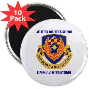 "DATT - M01 - 01 - DUI - Dept of Aviation Trades Training with Text 2.25"" Magnet (10 pack)"