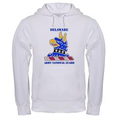 DELAWAREARNG - A01 - 03 - DUI - Delaware Army National Guard with text - Hooded Sweatshirt