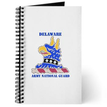 DELAWAREARNG - M01 - 02 - DUI - Delaware Army National Guard with text - Journal