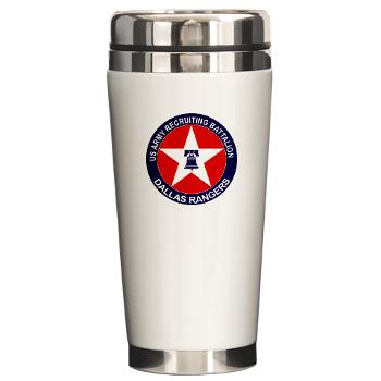 DRB - M01 - 04 - DUI - Dallas Recruiting Battalion - Ceramic Travel Mug