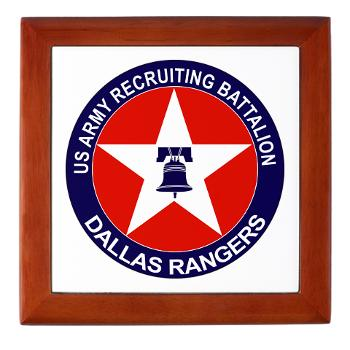 DRB - M01 - 04 - DUI - Dallas Recruiting Battalion - Keepsake Box